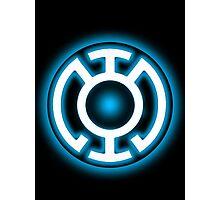 Blue Lantern - HOPE! Photographic Print