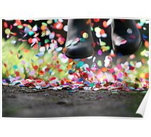 CONFETTI PUDDLES Poster