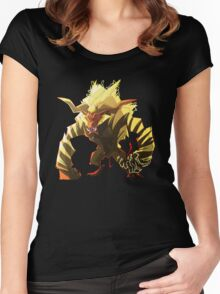 The Fur Beast Women's Fitted Scoop T-Shirt