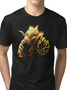 The Fur Beast Tri-blend T-Shirt