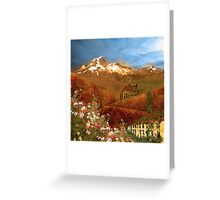Mythical Landscape - Full Version Greeting Card