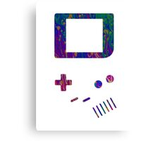 __gameboy psychedelic Canvas Print