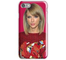 Taylor Swift in red iPhone Case/Skin