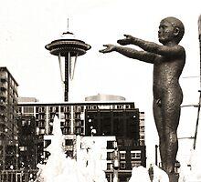 Seattle Fountain by Danielle Cardenas