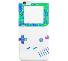__gameboy psychedelic green iPhone Case/Skin