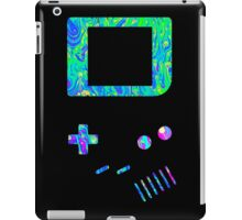 __gameboy psychedelic green iPad Case/Skin