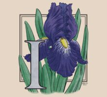 I is for Iris - full image by Stephanie Smith