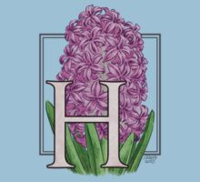 H is for Hyacinth - patch by Stephanie Smith