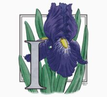 I is for Iris - patch by Stephanie Smith