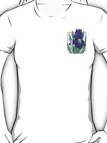 I is for Iris - patch T-Shirt