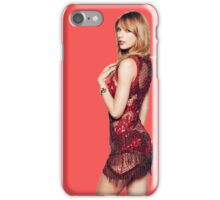 Lady in red - Taylor Swift iPhone Case/Skin