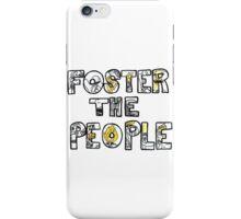 FOSTER THE PEOPLE PUMPED U KICKS iPhone Case/Skin