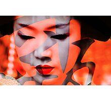 Geisha moderne Photographic Print
