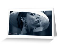 Svetlana's White Hat Greeting Card