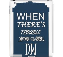 Call DW iPad Case/Skin