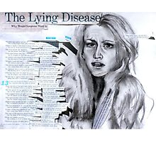 The Lying Game Photographic Print
