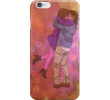 Autumnal Kisses - phone and tablet case and skin iPhone Case/Skin