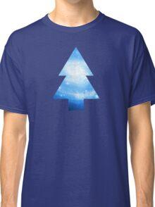 Dipper Pines Galaxy Tree Print Classic T-Shirt