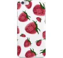 Strawberry Pattern iPhone Case/Skin