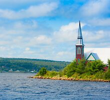 St Marks in Middle LaHave, Nova Scotia by kenmo