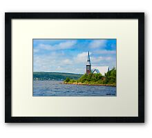 St Marks in Middle LaHave, Nova Scotia Framed Print