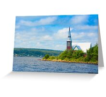 St Marks in Middle LaHave, Nova Scotia Greeting Card