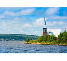 St Marks in Middle LaHave, Nova Scotia Photographic Print