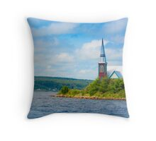 St Marks in Middle LaHave, Nova Scotia Throw Pillow