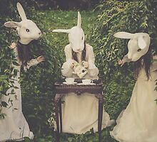 The Rabbits' Tea Time by Ryan Conners