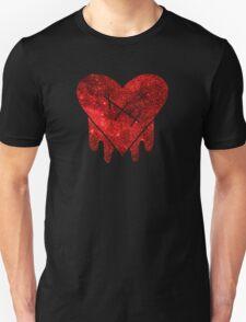 Gravity Falls Robbie Heart Galaxy Print T-Shirt