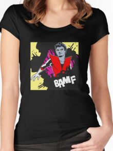 BAMF - Nightcrawler Women's Fitted Scoop T-Shirt