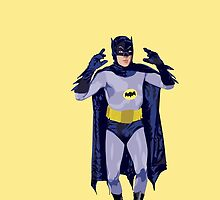 Adam West as..... The Batman! by Spartaneous