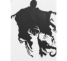 Dementor & patronus  Photographic Print