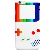 __gameboy rainbow iPhone Case/Skin