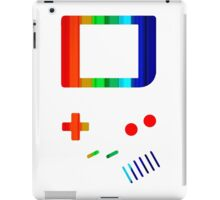 __gameboy rainbow iPad Case/Skin