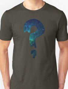 Soos Question Mark Galaxy Print Unisex T-Shirt