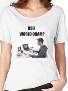 osu world champ Women's Relaxed Fit T-Shirt