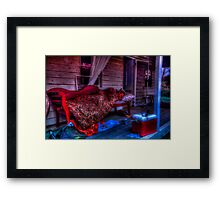 Morning after the night before Framed Print