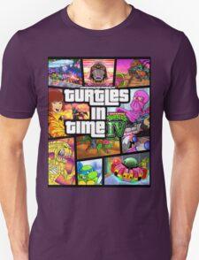 Turtles In Time GTA Parody T-Shirt