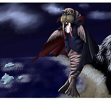 Vampire Walrus Photographic Print
