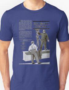 'Blue Buckle overalls' Advert T-shirt etc.... T-Shirt