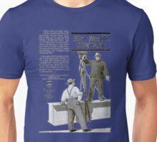 'Blue Buckle overalls' Advert T-shirt etc.... Unisex T-Shirt