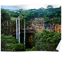 The Chamarel waterfall Poster