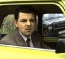Mr. Bean - Strange Stare Sticker