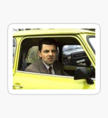 Mr. Bean - Strange Stare Sticker
