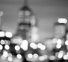 City after dark by fredz