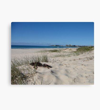 Coolangatta from North Kirra Beach Canvas Print