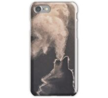 Howling wolf iPhone Case/Skin