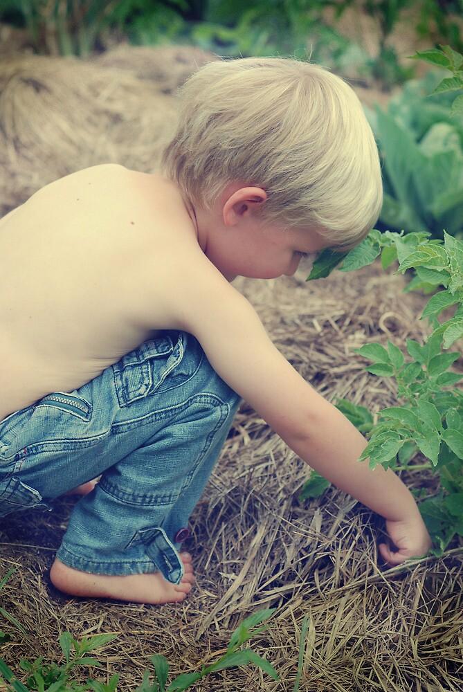 Earth Child... by Carol Knudsen