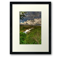 Storms coming... Framed Print